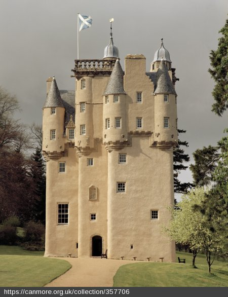 Craigievar Castle Scottish Baronial Architecture