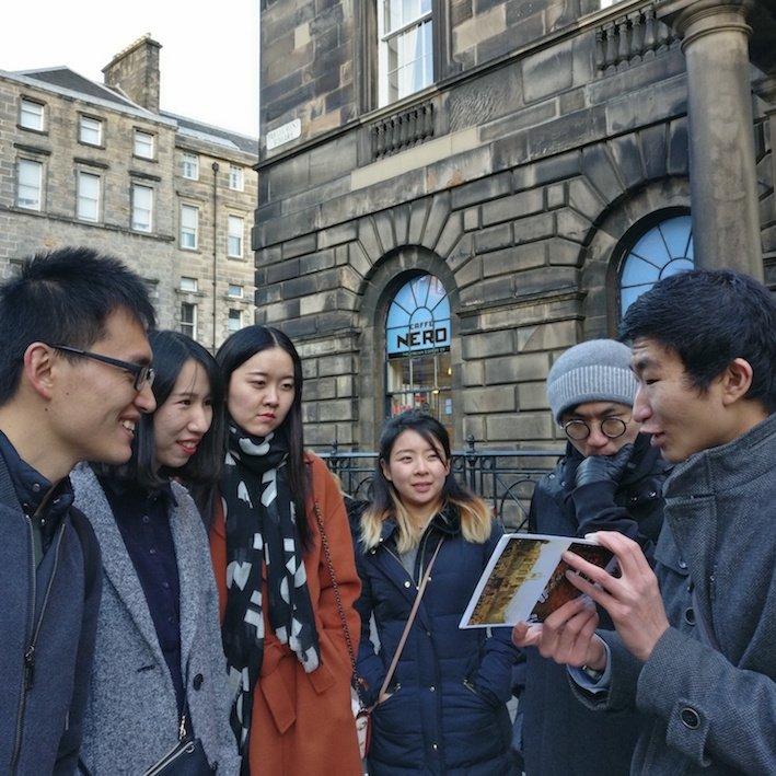 Mandarin Architecture Tour Edinburgh