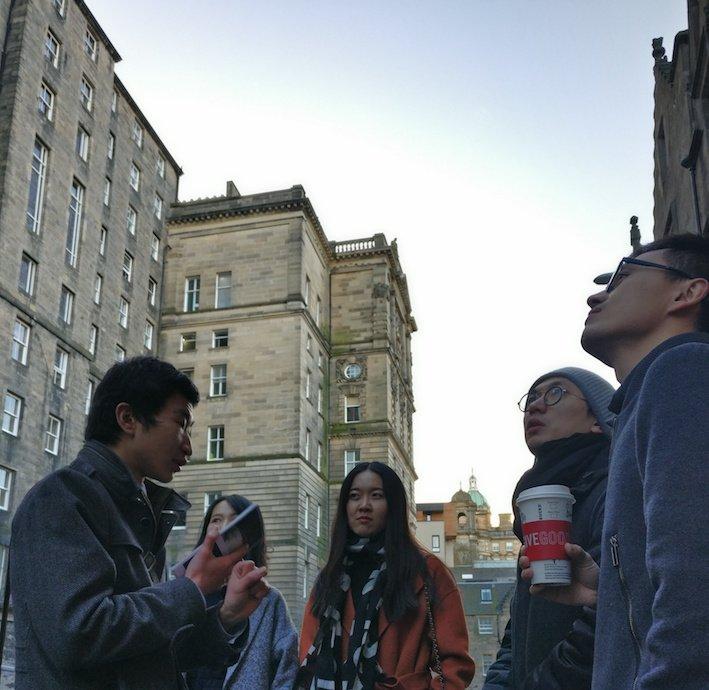Mandarin Edinburgh Architecture Chinese speaking Tour Group