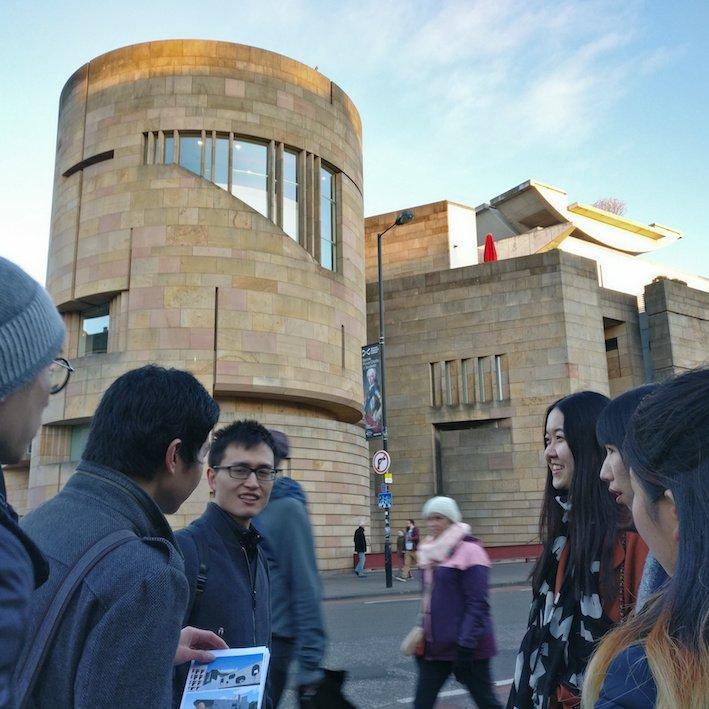 Mandarin Edinburgh Architecture Chinese speaking Tour Museum