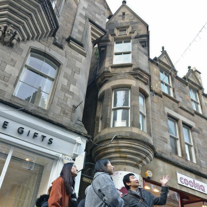 Mandarin Edinburgh Architecture Chinese speaking Tour towers