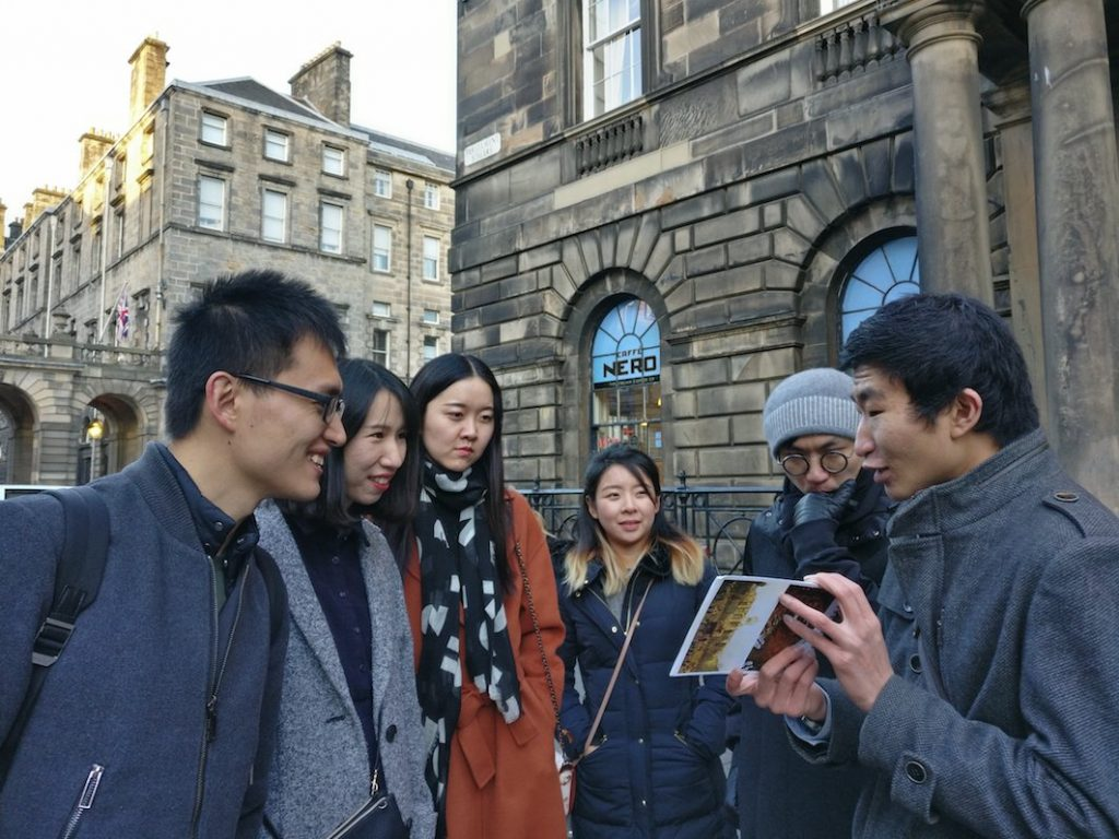 Mandarin Architecture Tour edinburgh