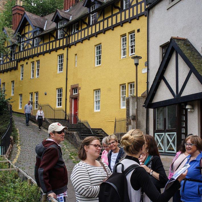 Hawthorn Buildings | Edinburgh Dean Village walk