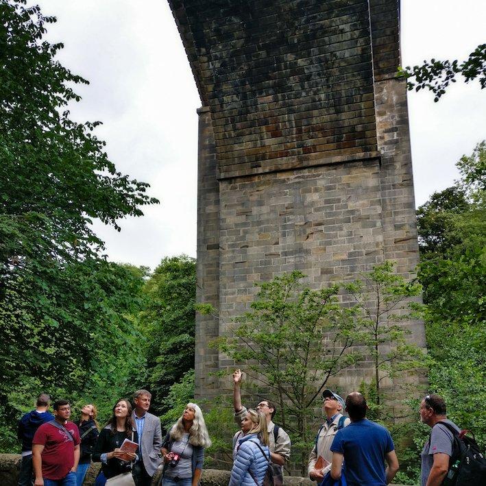 Under Dean Bridge | Thomas Telford | Edinburgh Dean Village walk