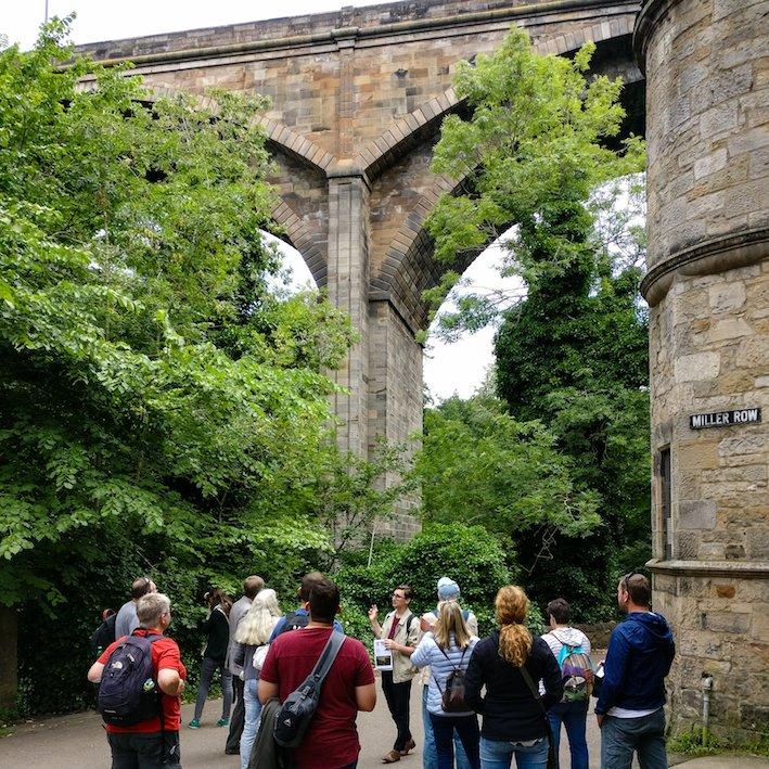 Architecture Tour of Edinburgh Dean Village 8