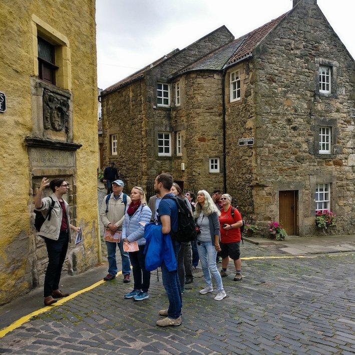 Old Baxter's Tolbooth | Edinburgh Dean Village Walk