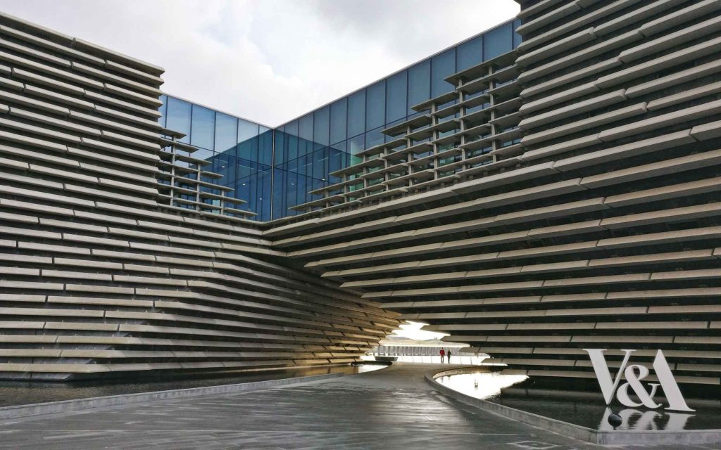 V&A museum by Kengo Kuma in Dundee Scotland