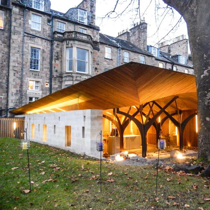 Contemporary Architecture tour Edinburgh WI