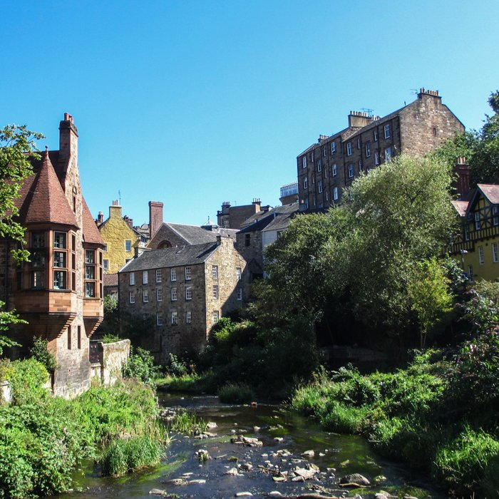 Dean Village, Water of Leith and buildings | Architecture Tour