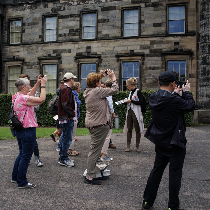 Architecture Tour group Scottish Modern Art Gallery
