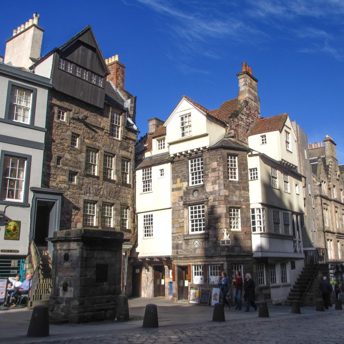 John Knox House Edinburgh Oldest houses || Group Architecture Tours