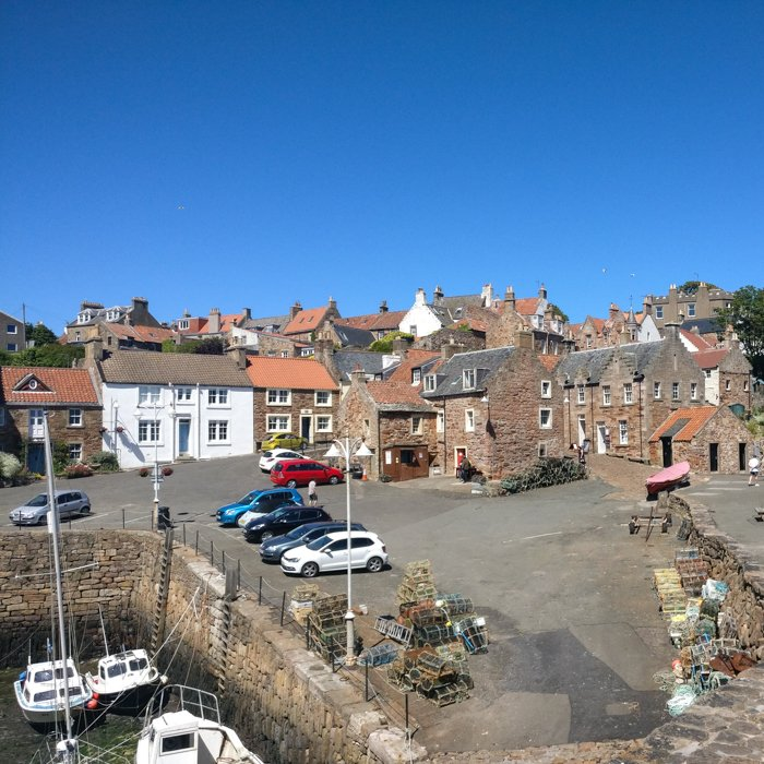 Crail Harbour in Fife picturesque village | Architecture Tours