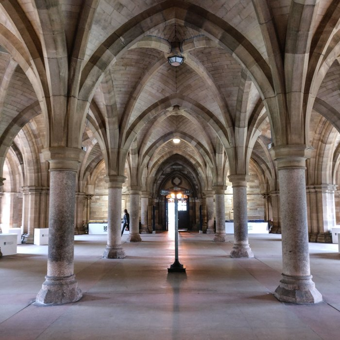 Glasgow Architecture Tour University Vaults