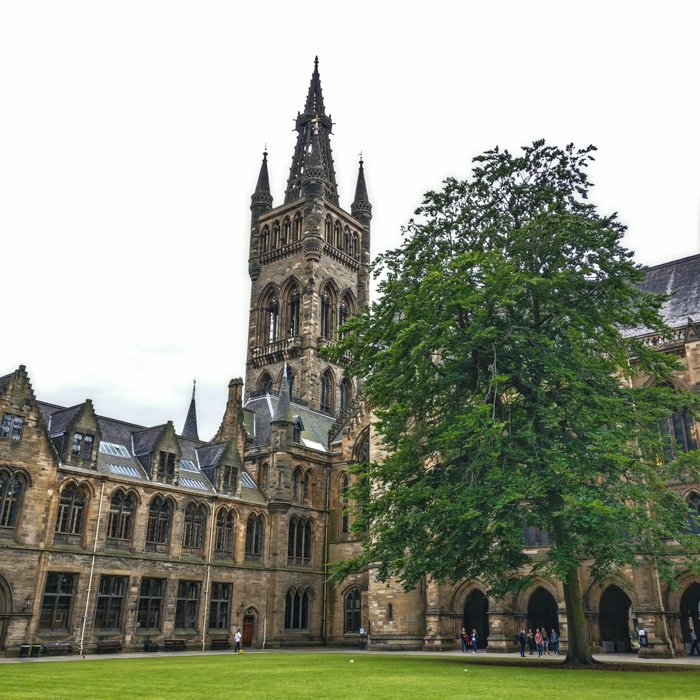 Glasgow University Scottish Baronial Courtyard | Architecture Tour