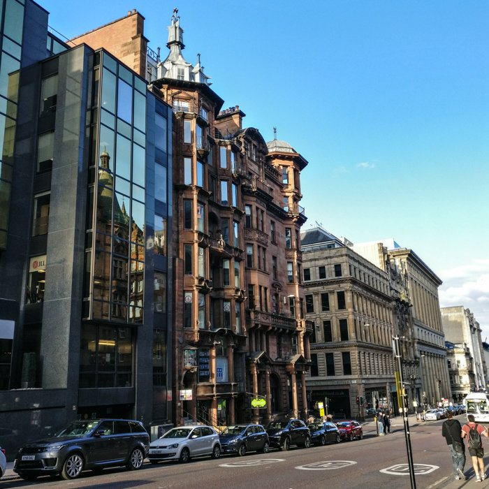 Glasgow Architecture Tour streets