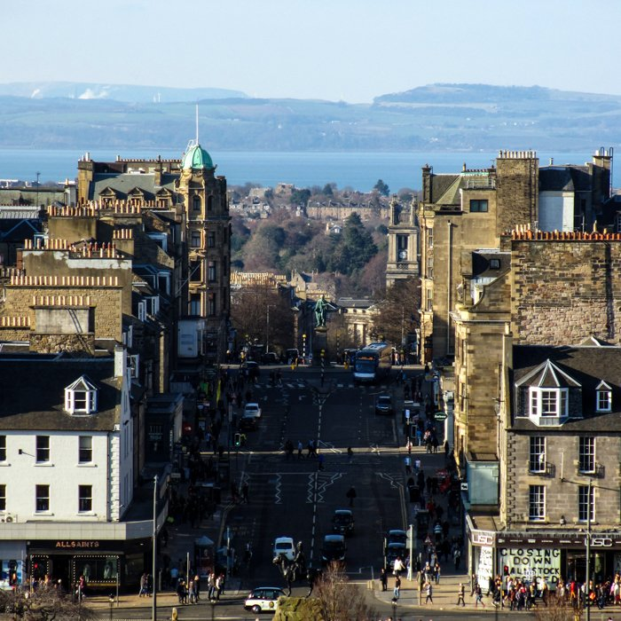 New Town Views towards the Forth | Architecture Tour
