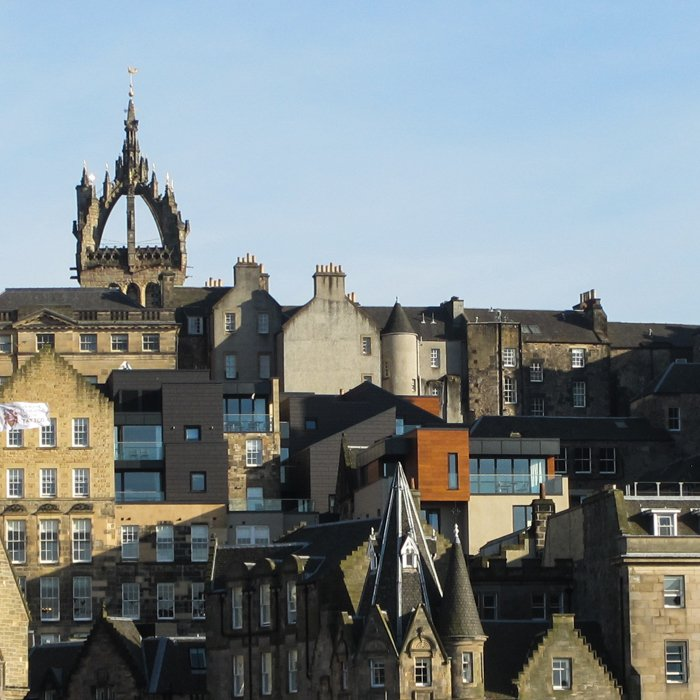 Old Town Roofscape | Architecture Tour Edinburgh