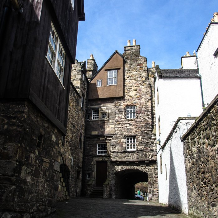 Bakehouse Close Buildings Canongate | Old Town Architecture Tour Edinburgh