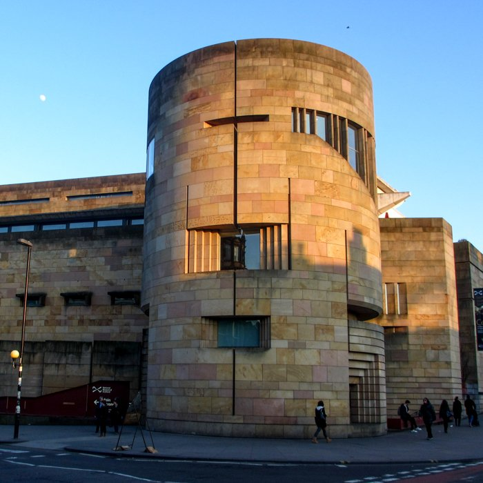 Extension of the National Museum of Scotland | Benson and Forsyth | Old Town Architecture Tour Edinburgh