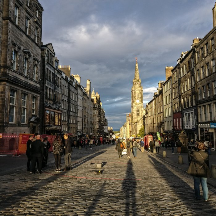 Royal Mile Street | Old Town Architecture Tour Edinburgh