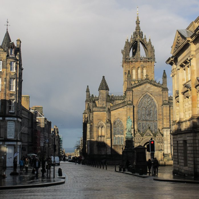 Royal Mile Saint Giles Cathedral | Old Town Architecture Tour Edinburgh