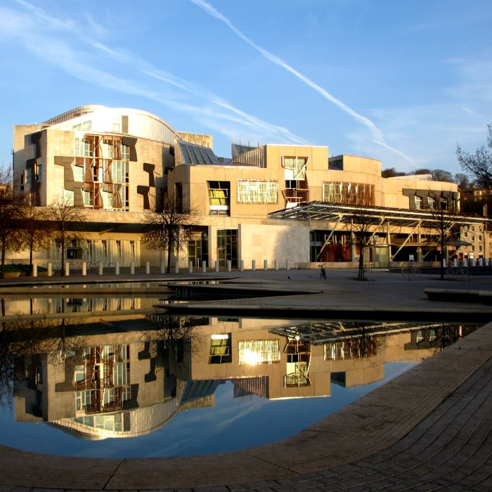 Scottish Parliament Enric Miralles Sunrise | Old Town Architecture Tour Edinburgh
