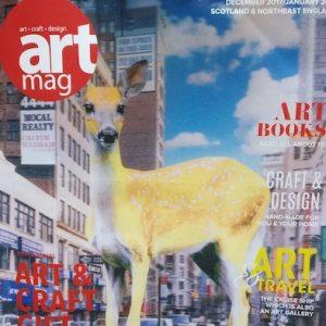 Art Mag cover page   Edinburgh tours