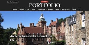 Blog cover image - Edinburgh Architecture Tours mentioned in The Week Portfolio