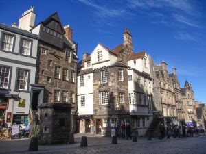 John Knox House | Oldest House | Jettying | Timber House |