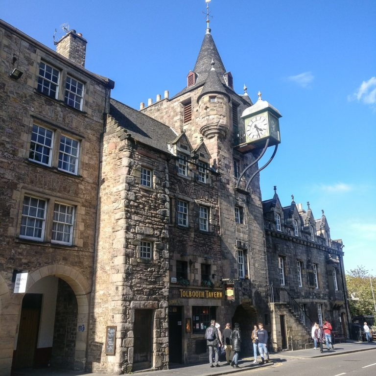 Canongate Tolbooth Edinburgh Old Town Architecture Tour | Royal Mile | Scottish Baronial