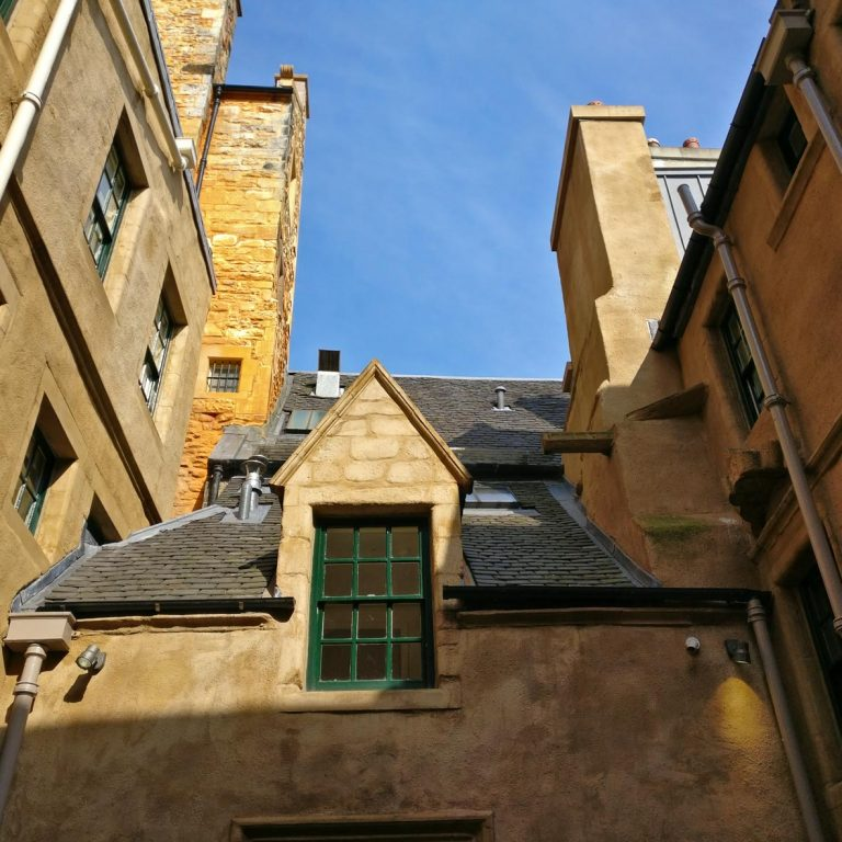 Riddle's Court | Patric Geddes Learning Centre | Edinburgh Old Town | Royal Mile tour | Orange Harling