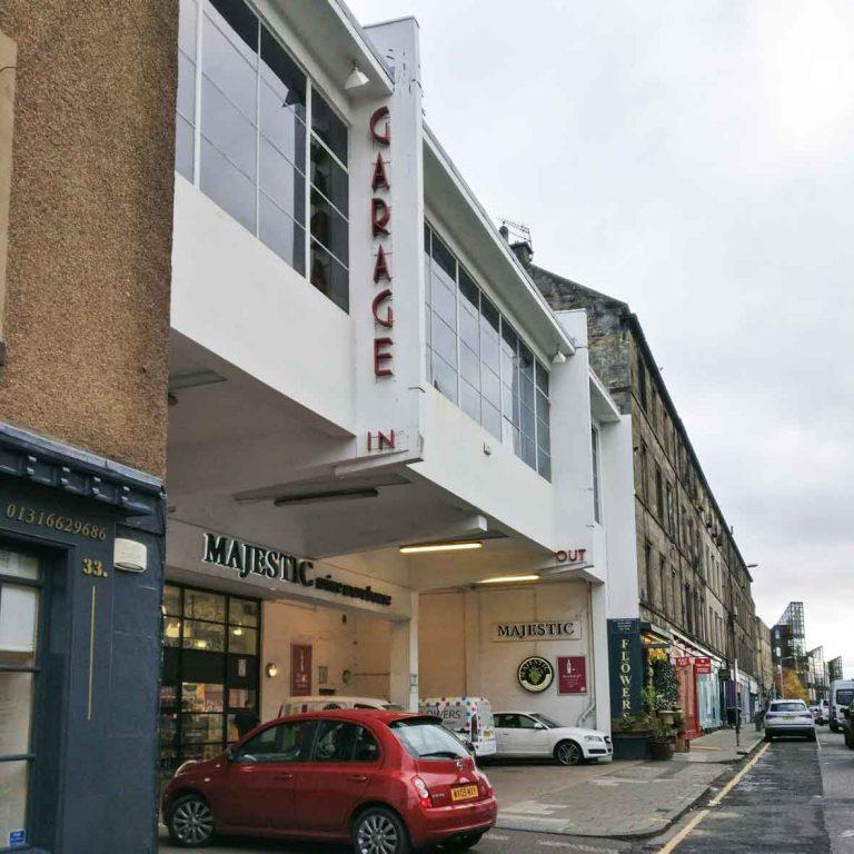 Basil Spence_Southside Garrage_Edinburgh Art Deco
