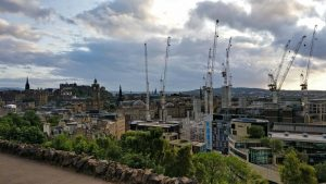 Edinburgh Skyline from Calton Hill | Edinburgh Walking Tours