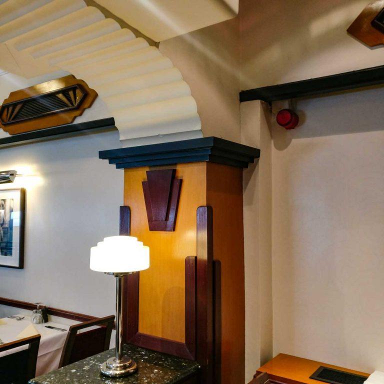 Maybury Casino Interior detail_Edinburgh Art Deco