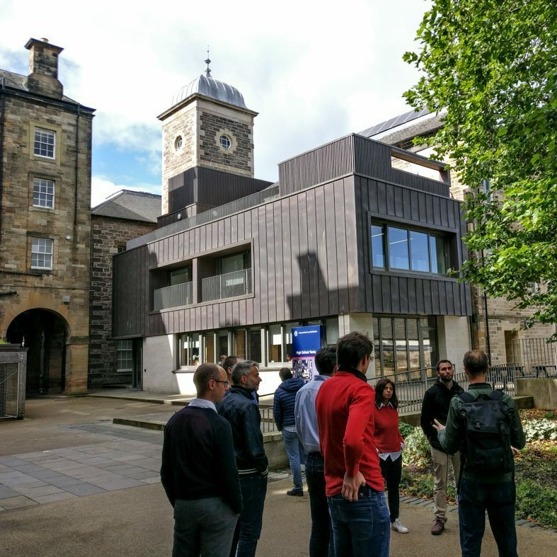 Group Tour Edinburgh Edinburgh Centre for Carbon Innovation