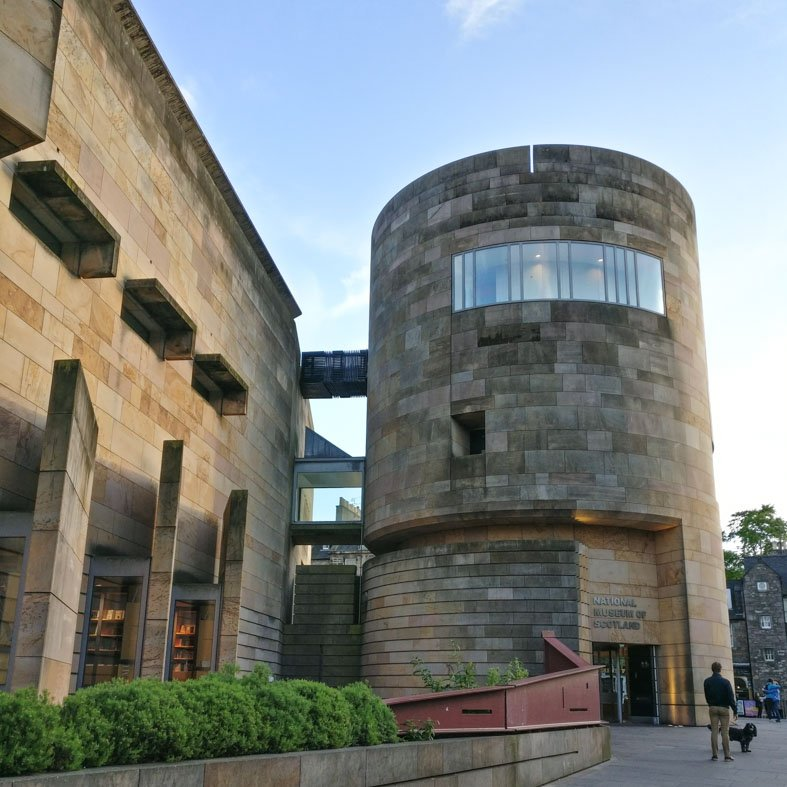 National Museum of Scotland extension by Benson and Forsyth | Edinburgh Architecture Walking Tour
