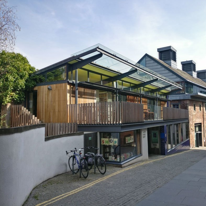 Poetry Library by Malcolm Fraser Architects| Edinburgh Contemporary Architecture Walking Tour