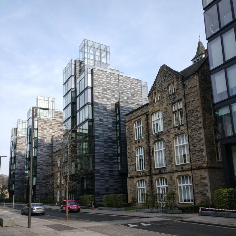 Quartermile Housing by Foster and Partners Architects | Edinburgh Architecture Walking Tour