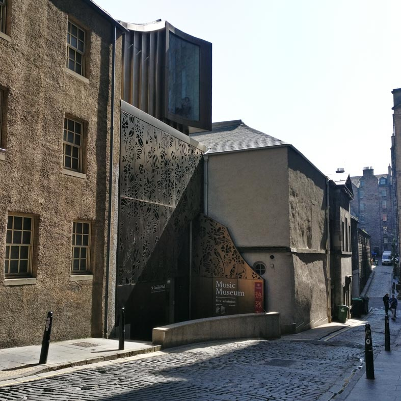 St Cecilia's Concert Hall | Edinburgh Old Town Architecture Walking Tour