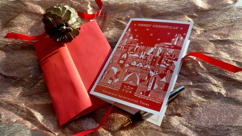 Edinburgh Christmas Gift Card