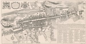 Edinburgh Old Town map 1742 William Edgar