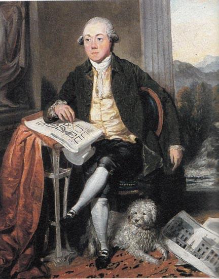 Portrait painting of James Craig