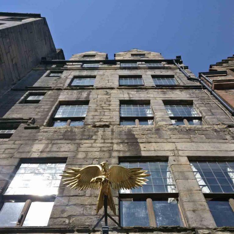Gladstone Land seen on Edinburgh Old Town audio tour